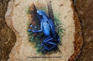 """""""Frog on Wood (II)"""" by Endro Rukmono"""